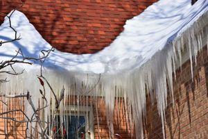 Ice Dams on Gutters