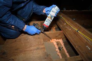 Expansive Foam Air Sealing