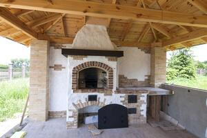 Tuscan Outdoor Kitchen