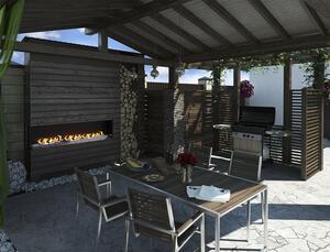 Mid-Century Modern Outdoor Kitchen