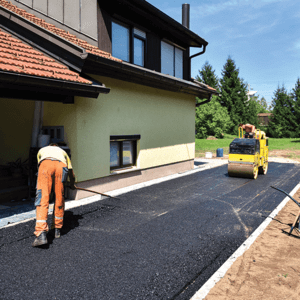 [asphalt paving installation]