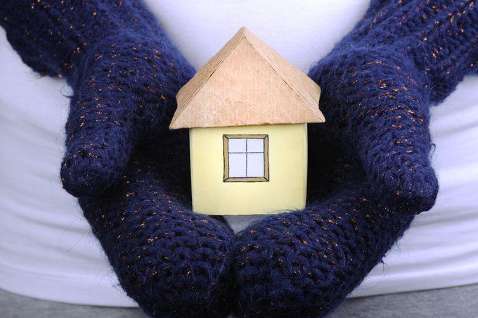 Model House In Mittens