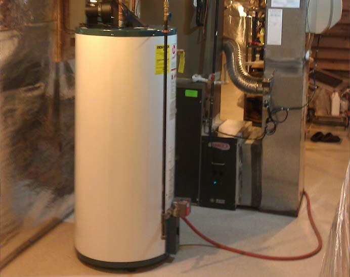 standard water heater