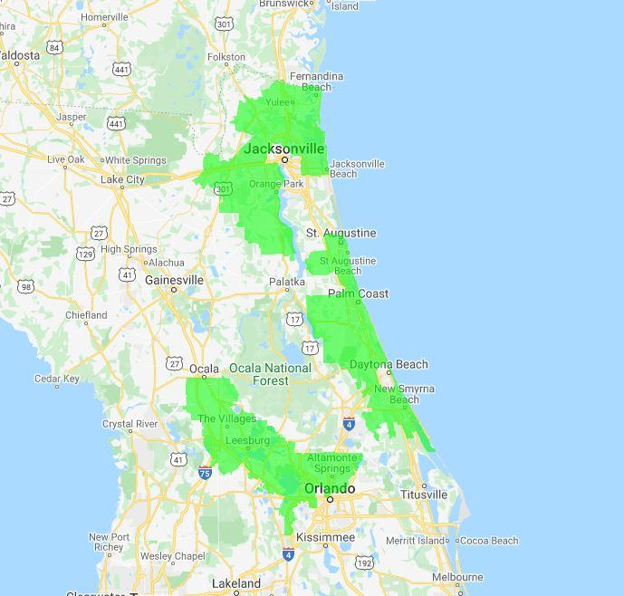 The Junkluggers of Northeast FL location