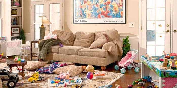 Decluttering Your Living Room