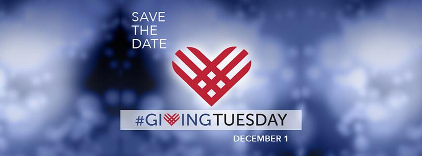 Giving Tuesday is December 1st