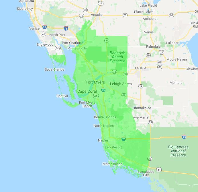 The Junkluggers of Southwest Florida location
