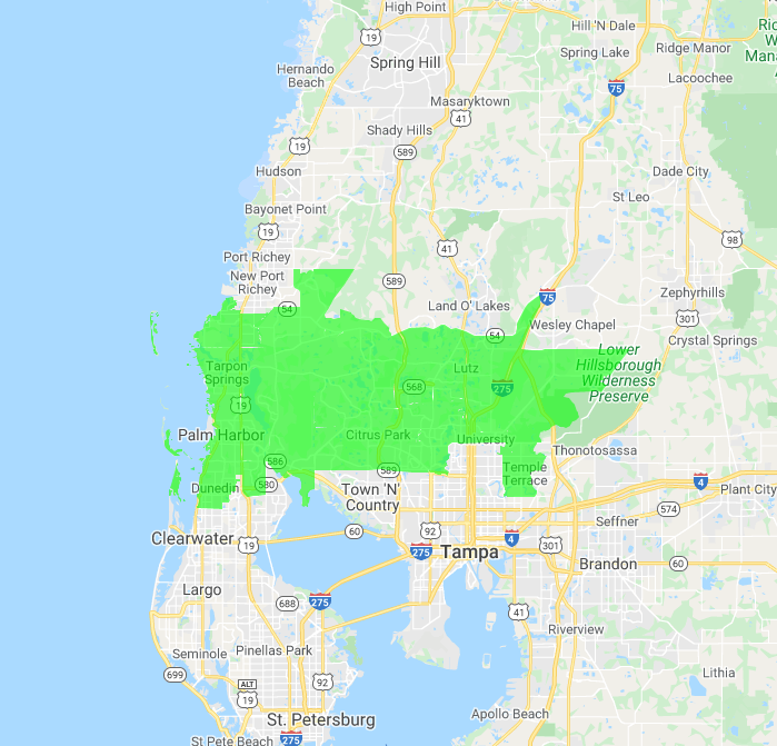 The Junkluggers of North Tampa Bay location