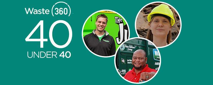 Waste360's 40 under 40 Awards