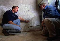 Wet Basement Inspection for Leaks