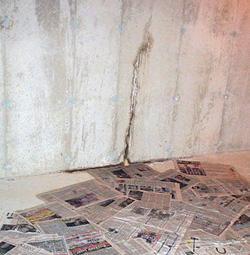 Leaking foundation repair in Reynoldsburg