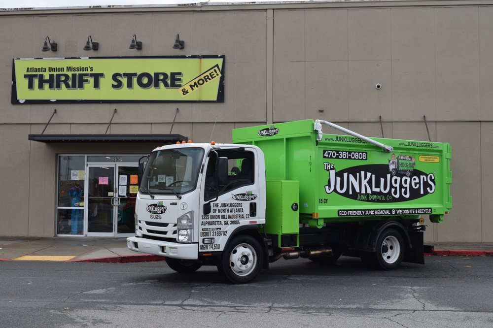 The Junkluggers of North Atlanta at the Atlanta Union Mission Thrift Shop