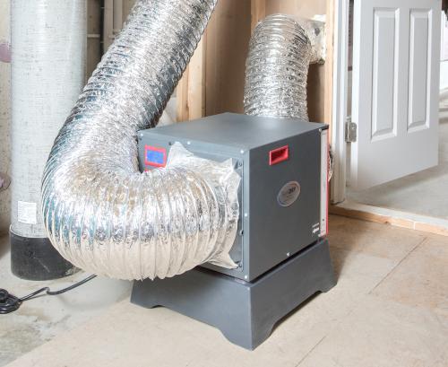 Basement Dehumidifier Installation in Sioux City, NE, MO, and IA