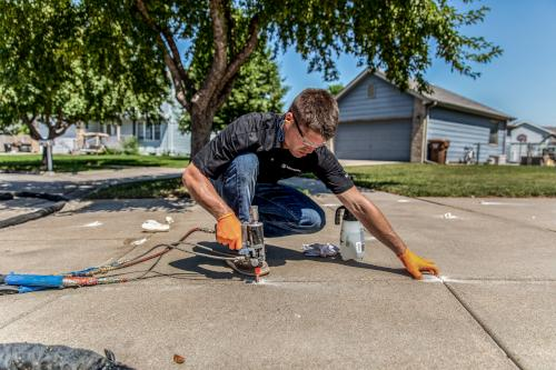 Concrete Leveling in Sugarland, Texas