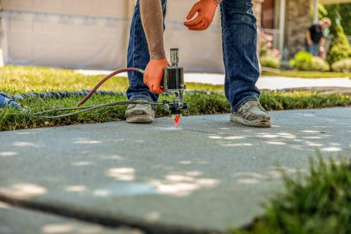 Contact Level-Aid for Concrete Leveling in Fort Bend & Harris Counties