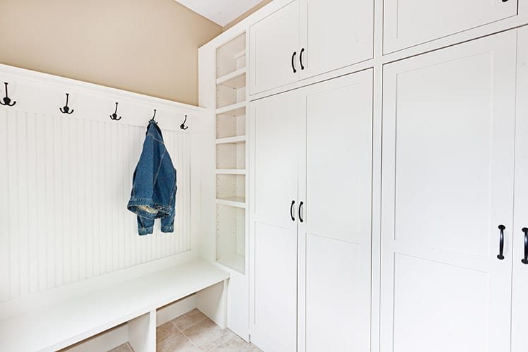How to Reduce Mudroom Clutter