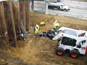 Commercial Helical Anchor Installation in Burlington, Iowa