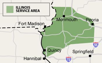 Illinois Service Area