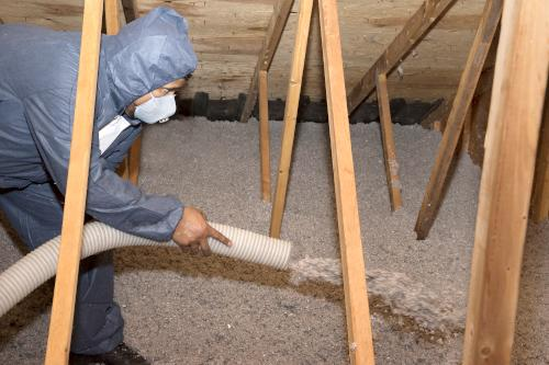 Attic Insulation in Lenexa
