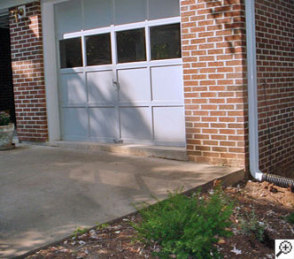 Concrete driveway repair of the control joints in a Gastonia, North Carolina home