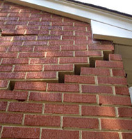Failing Foundation Issue with Wall Cracks in Shelby, North Carolina