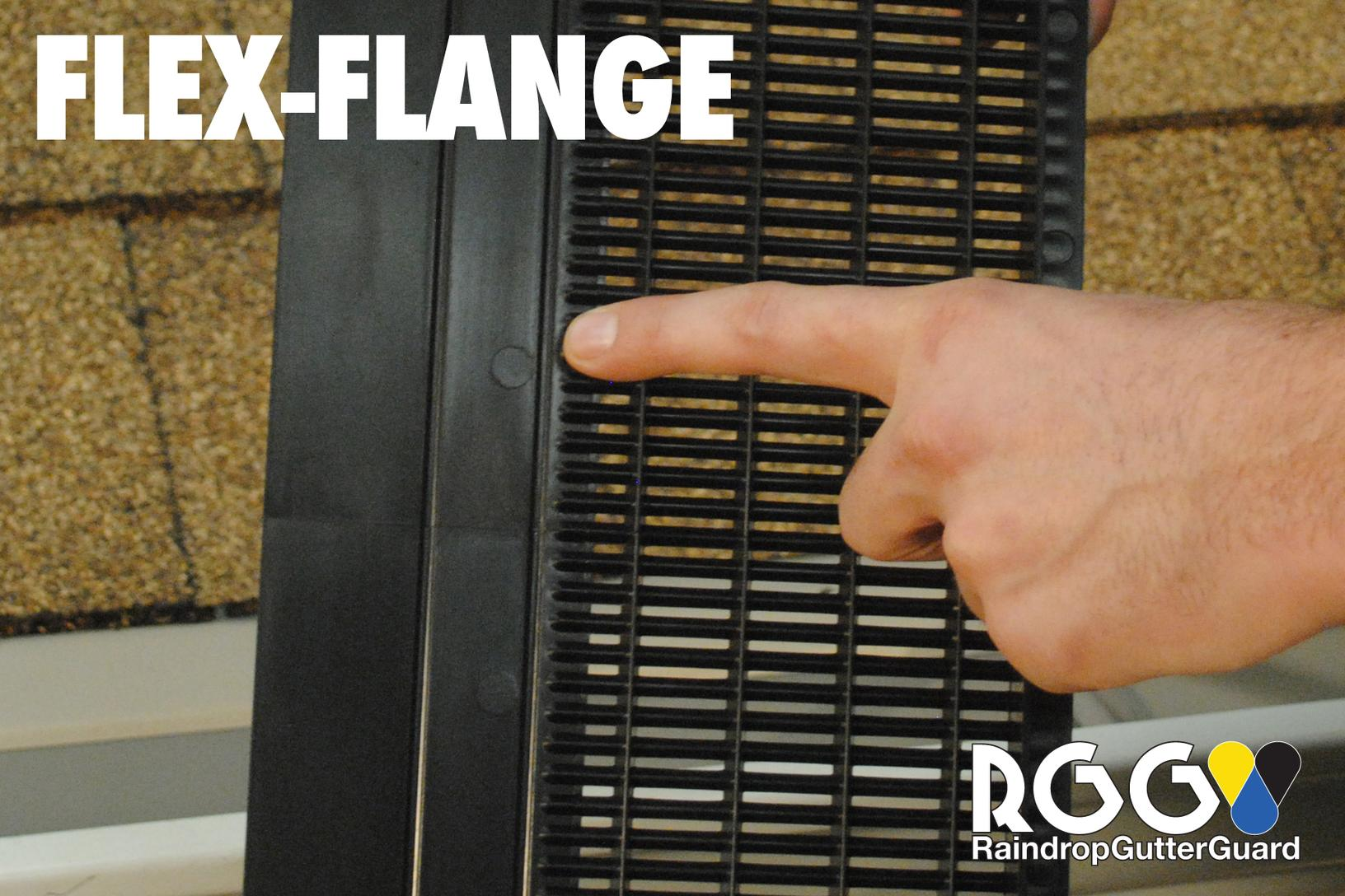 Flex-Flange To Fit Every Gutter Size, Roof Type & Installation Method