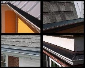 Gutter Guards on Several Roofs