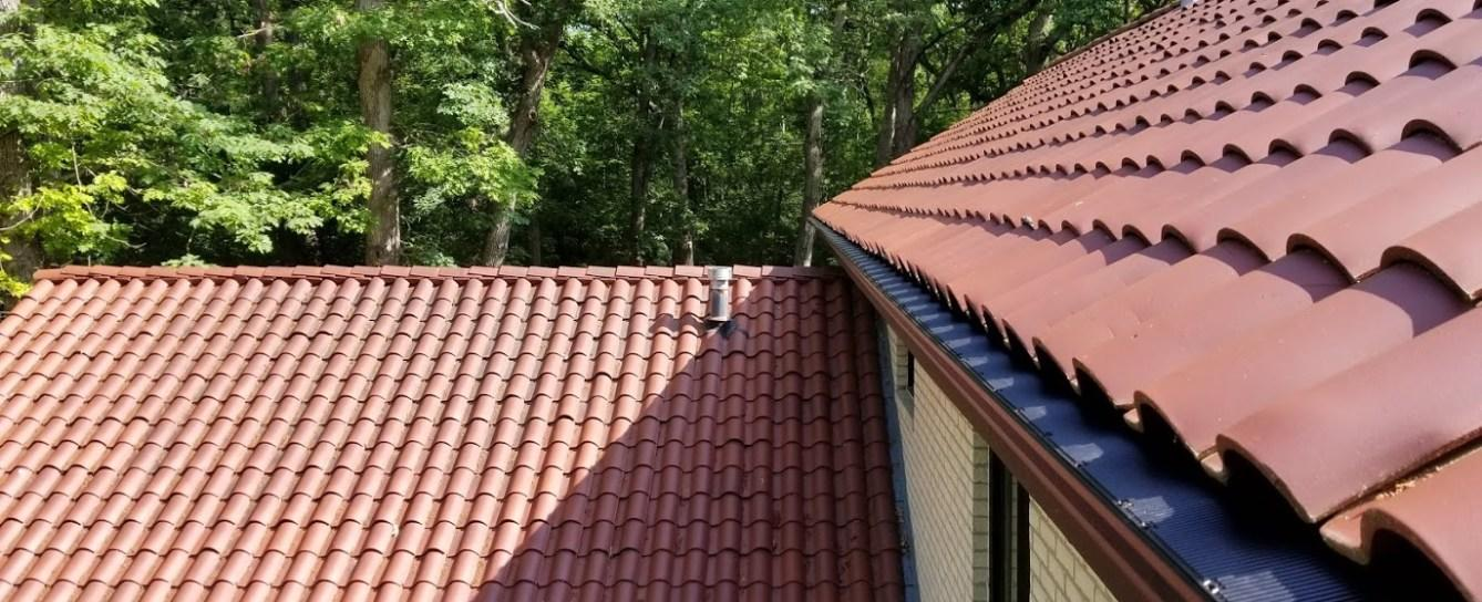 Gutter Guard for Spanish Tile Roof