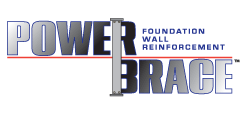 PowerBrace™ foundation wall reinforcement system