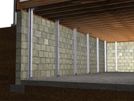 reinforced foundation walls