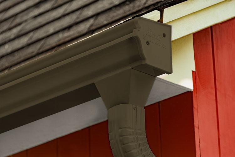 Musket Brown Colored Gutter