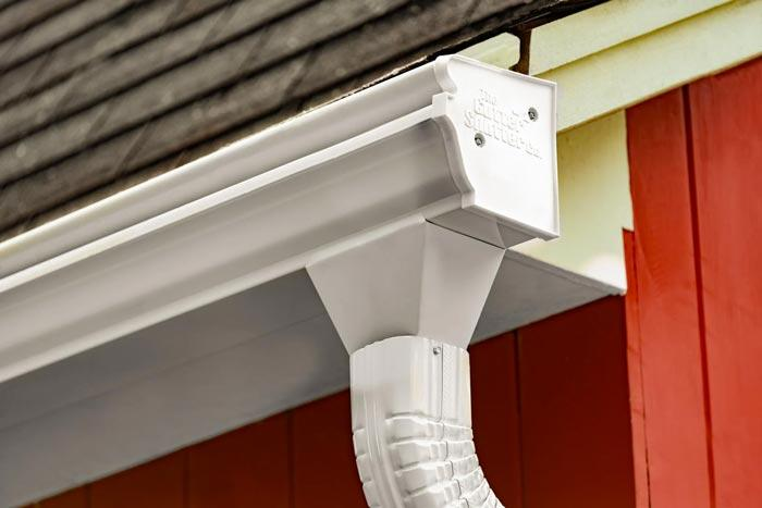 Installing Gutter Shutter Gutters with no-clog guarantee
