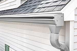 Seamless aluminum gutter