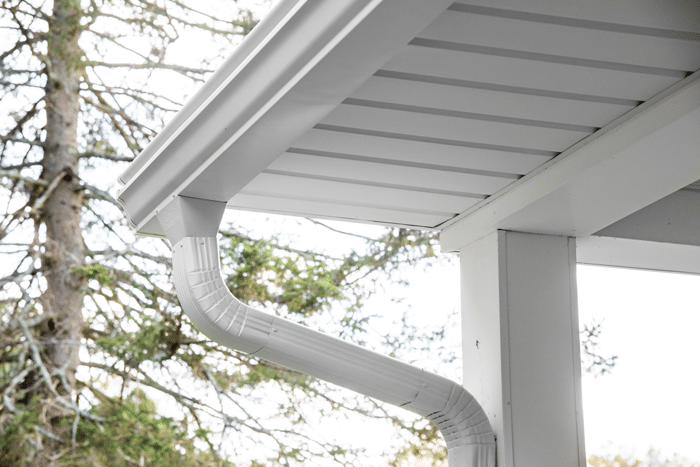 Wide Mouth Downspout