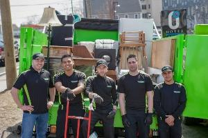 Junk removal services offered in Jeffersonville, Prospect & in surrounding cities