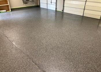 After Garage Floor Refresh McKinney TX