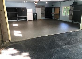 Kirkwood, Missouri Garage Storage & Flooring After