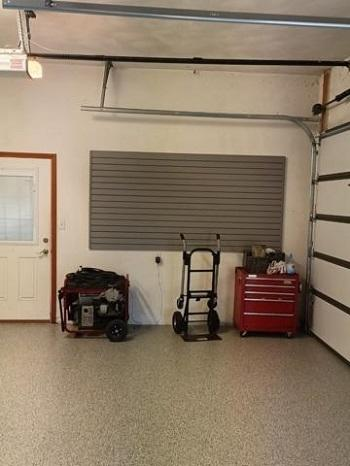 After Garage Floor Coating in Shiloh, Illinois