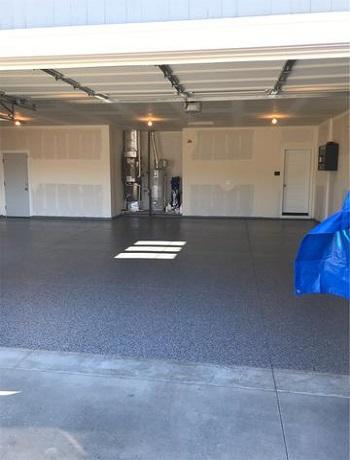 After Garage Floor Makeover in Meridian, Idaho