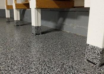 Seaford, Delaware Garage Floor Coating Details After