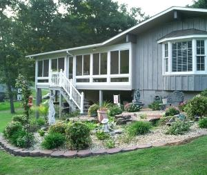 Enclosed porch installation in Manchester, Merrimack, or nearby