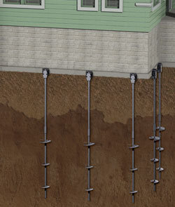 Helical Piers For Foundations