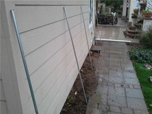 Concrete walkway repaired in Santa Ana