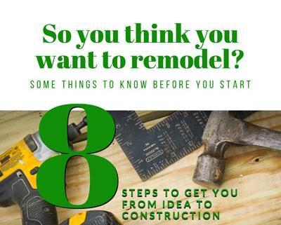 8 Steps To Get You From Idea To Construction