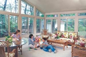 A complete family room within your sunroom in North East