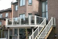 framed glass railings in Northwest PA