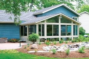 Professional sunroom products used by DBC Remodeling & Construction