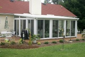 Sunroom installation offered by DBC Remodeling & Construction