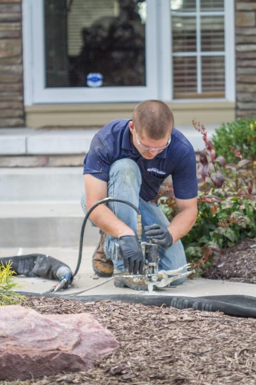 Concrete Leveling in Indianapolis