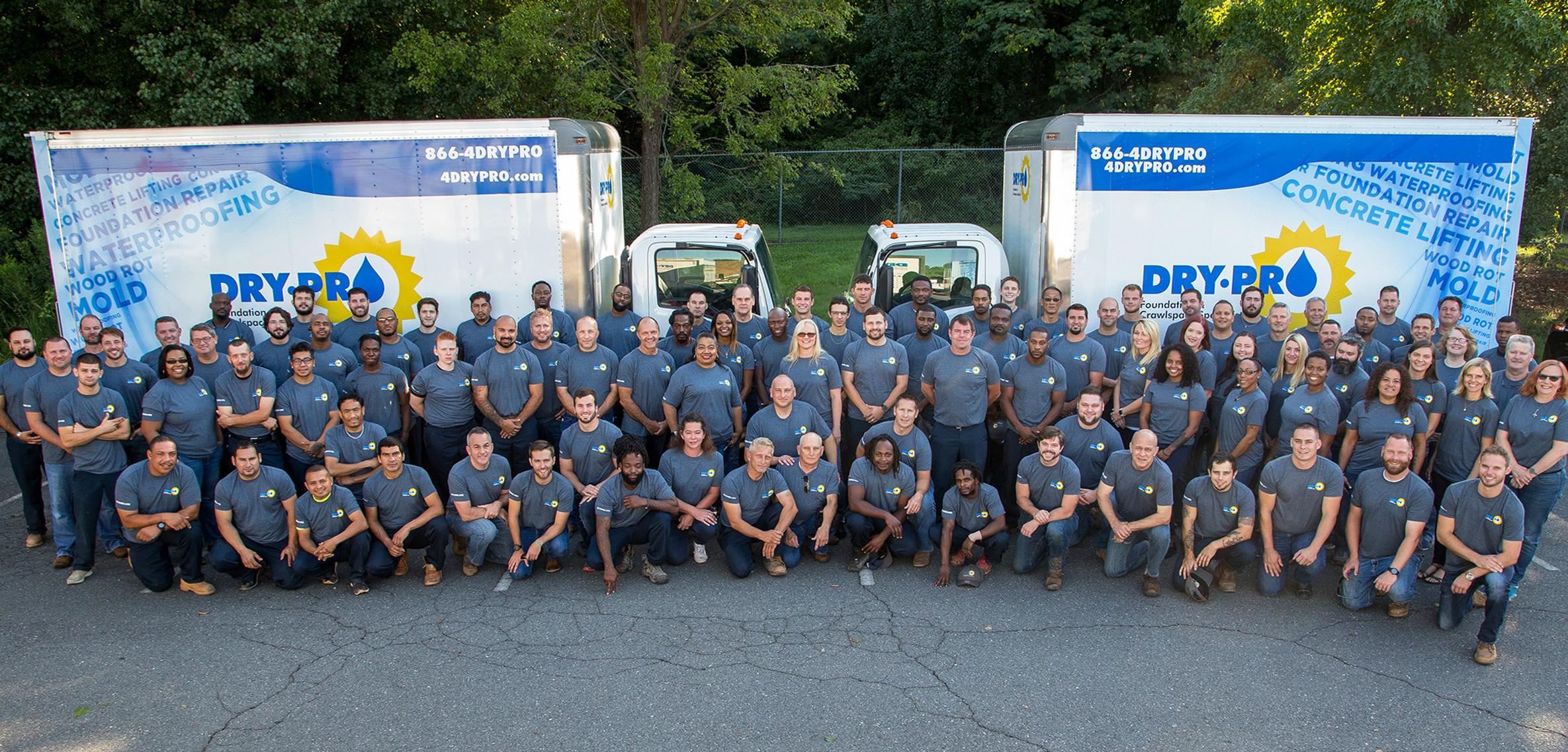 Meet Dry Pro Foundation and Crawlspace Specialists' Team